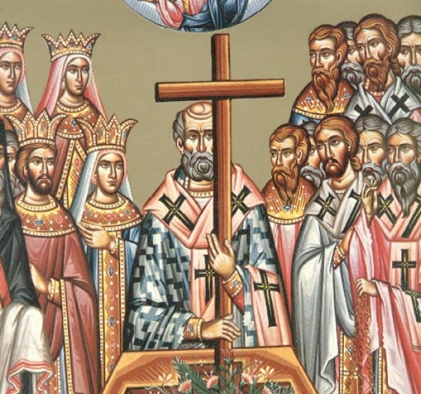 VENERATION OF THE HOLY CROSS THIRD SUNDAY OF THE GREAT LENT 22/03/2020